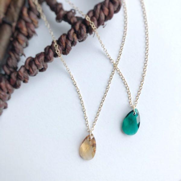 Pendant Birthstone Necklace