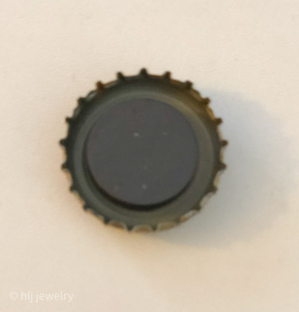 Set of 7 Bottlecap Magnets – Beer, Alcohol, Soda