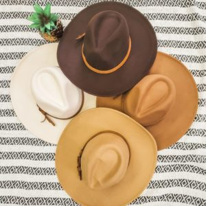 Wide Brim Panama Dandy Hat