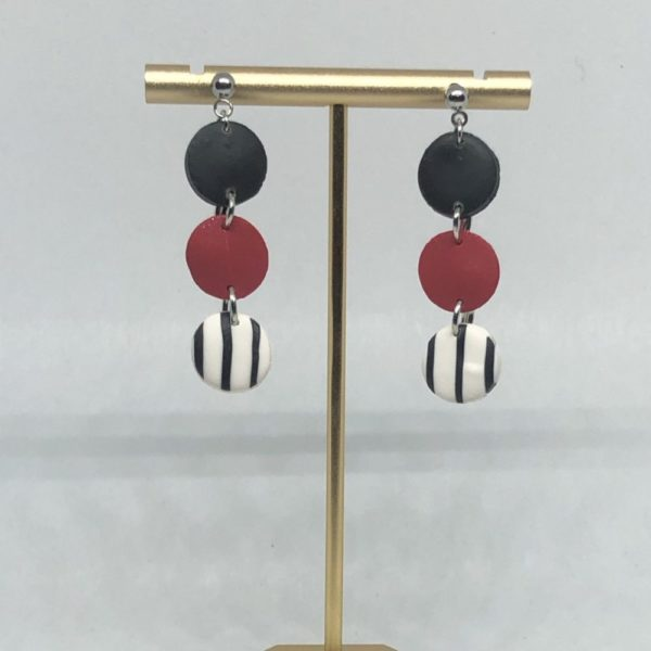 Red + Black Tri