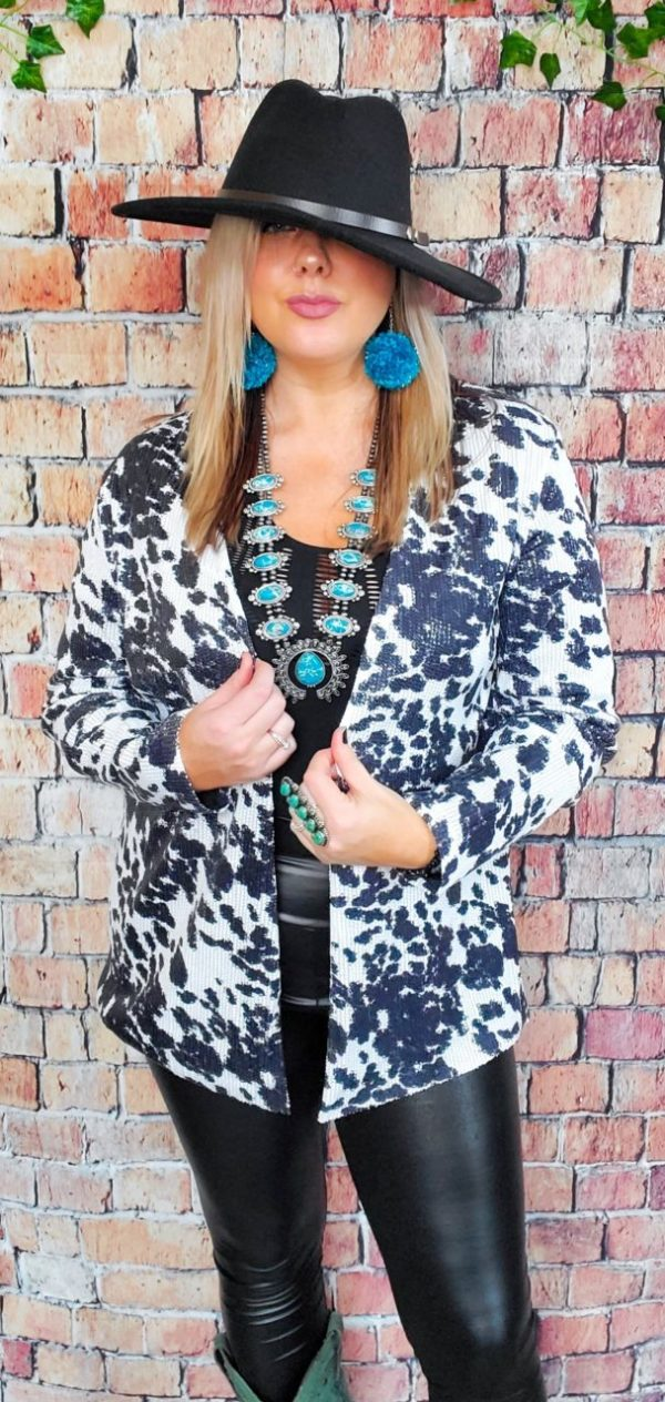 Rhinestone Cowgirl Blazer/Cardi