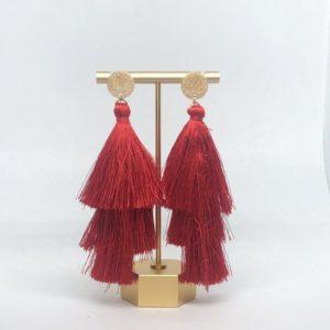 Red & Gold Tassel