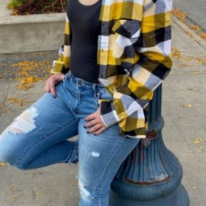Black & Yellow Flannel
