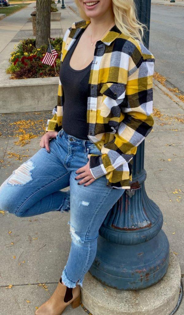 Black & Yellow Flannel