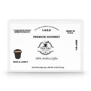 60 Pack Single Serve Coffee Capsules