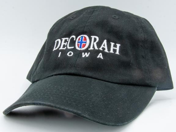 Decorah Iowa with flag cap