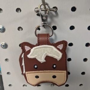 """Horse"" Hand Sanitizer Holder"
