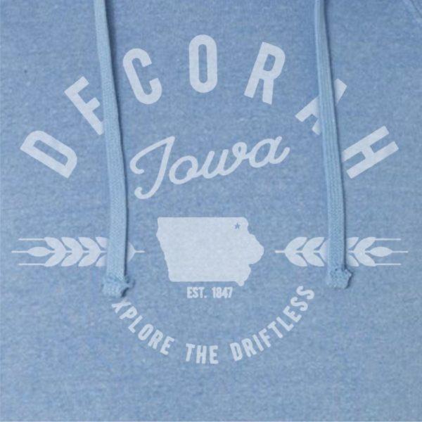 Decorah Discover the Driftless Hoodie