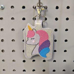 Unicorn Hand Sanitizer Holder