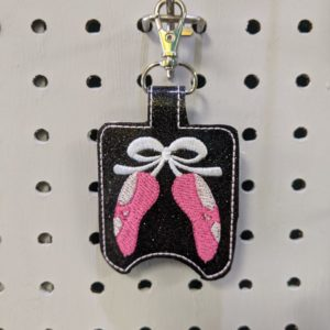 Ballet Shoes Hand Sanitizer Holder