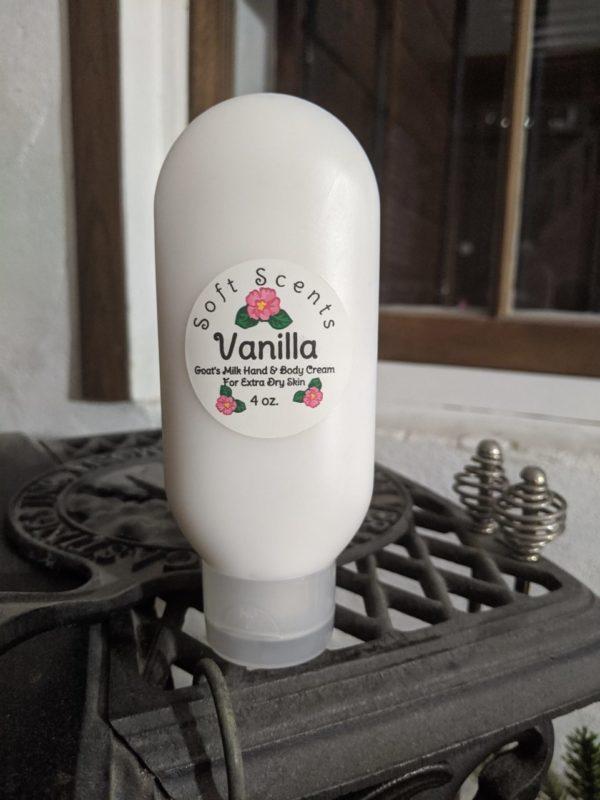 Vanilla Goat's Milk Hand & Creme