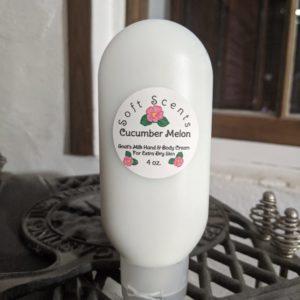 Cucumber Melon Goat's Milk Hand & Creme
