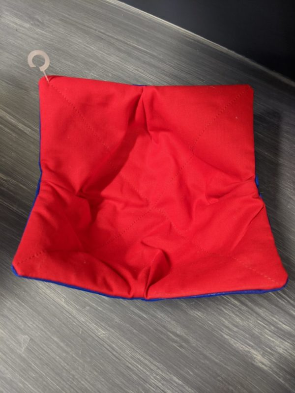 Red/Blue  Bowl Coozie
