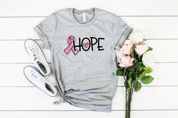 Pink Ribbon Hope Tee
