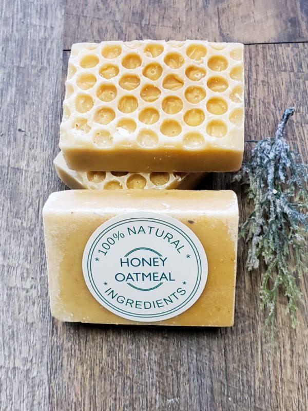 Oatmeal & Honey Sensitive Skin Soap
