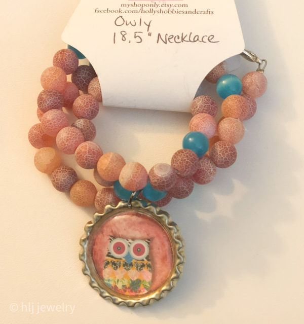 Owl Necklaces – 2 Styles to Choose From