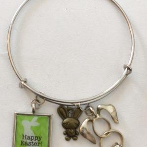 Easter Bunny Adjustable Expandable Bracelet