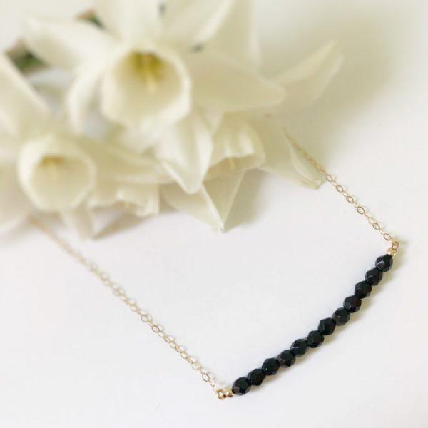 Black Luna Necklace
