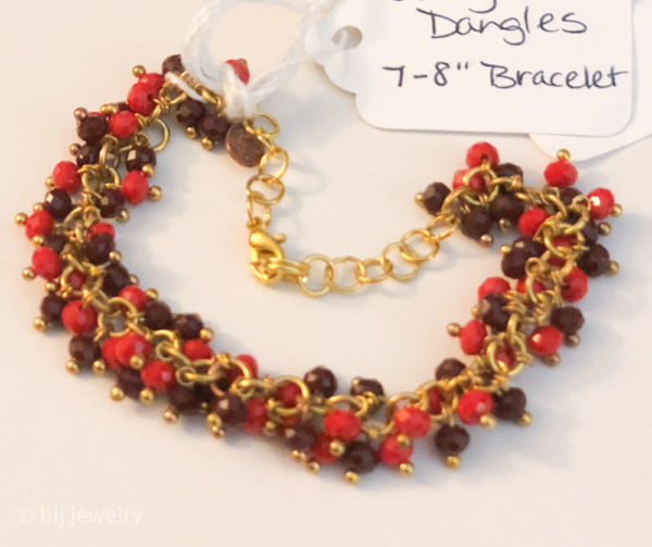 Berry Dangles 7-8″ Bracelet