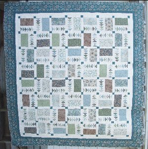 Circle Round of Geese Quilt Kit