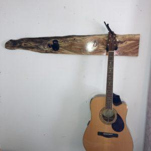 Live Edge Wood Guitar Hanger