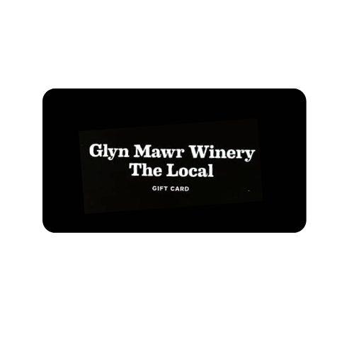 Glyn Mawr Winery Gift Card