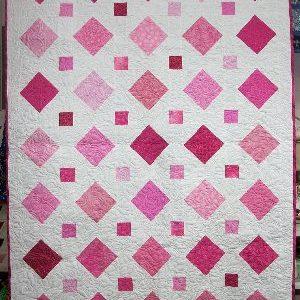 I Love Pink Quilt Kit