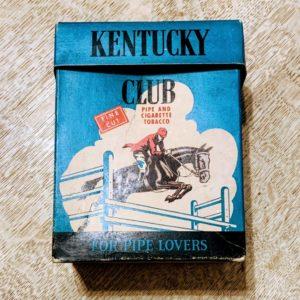 Vintage 1940's Kentucky Club Tobacco Box