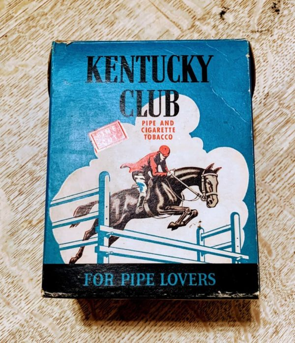 Vintage 1940's Kentucky Club Tobacco Box