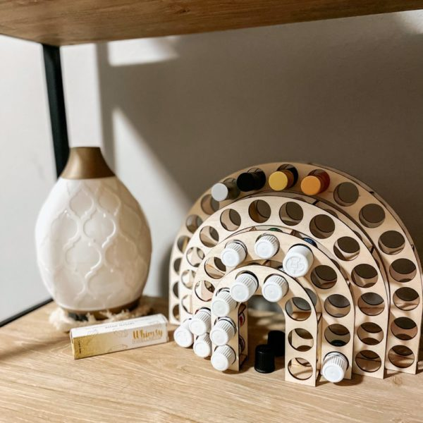 The Arc Essential Oil Holder (Wood)