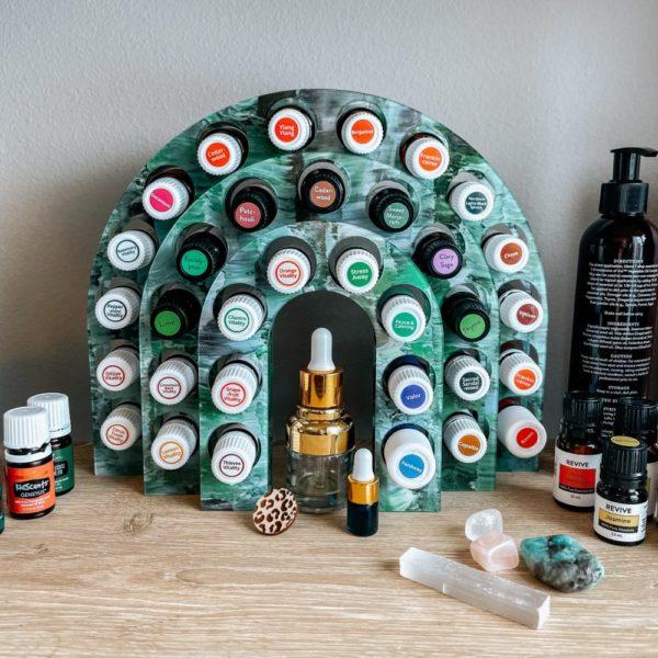 The Arc Essential Oil Holder (Acrylic)
