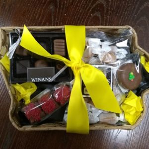 Iowa Chocolate & Candy Gift Basket