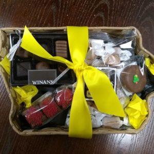 Iowa Chocolate & Candy Gift Basket