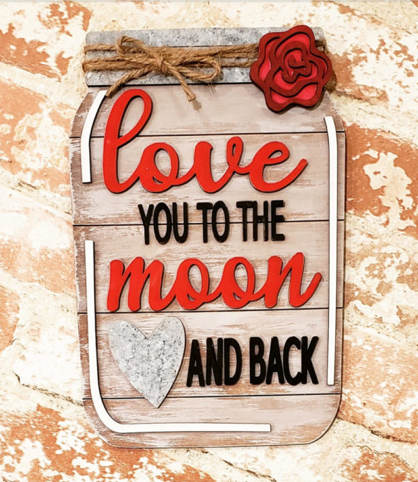 Love You to the Moon and Back DIY Kit