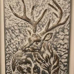 Metal Deer Wall Art