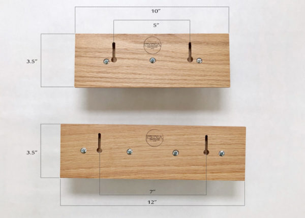 Solid Oak Wall Hanger