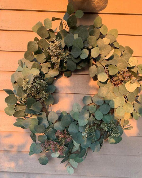 Seeded Eucalyptus Wreath
