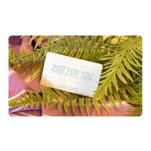 Just For You Gift Card