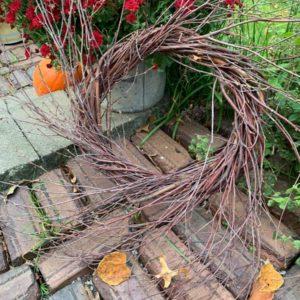 Twiggy Birch Wreath