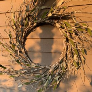 White Birch Wreath