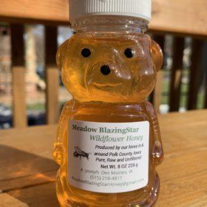 Honey – Eight Ounce Honey Bear