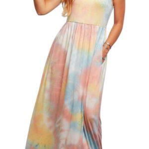 photo of Tie Dye Maxi Dress, Cafe Boutique, Shop Iowa