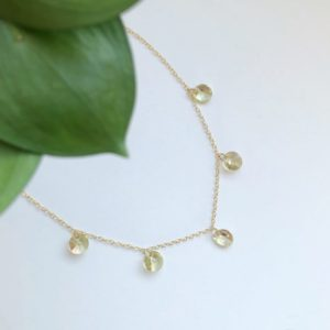 Crystal Birthstones Necklace