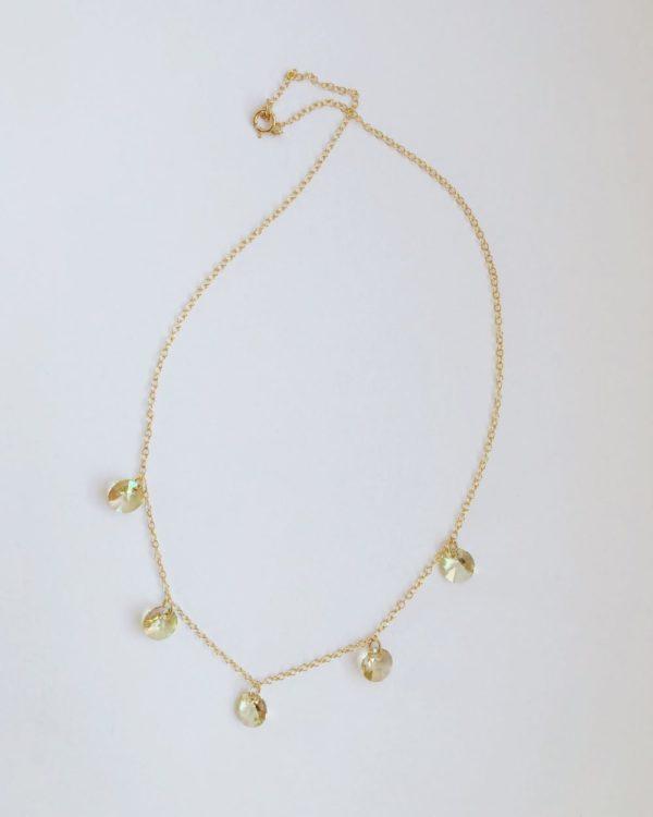 Crystal Birthstones Necklace