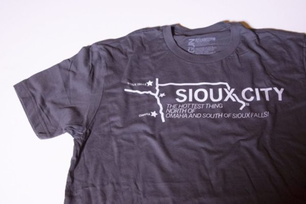 Sioux City the Hottest Thing between Omaha and Sioux Falls T-shirt
