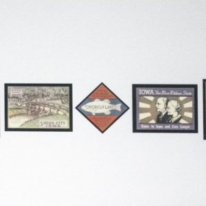 Poster Stamp Art Wall Decor