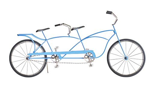 """""""Doodles"""" Tandem Bicycle for home decor"""