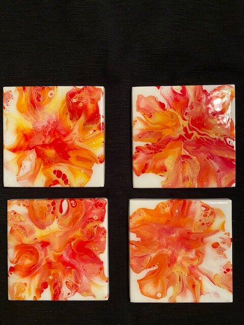 Fiery Coaster by Gwen Atty