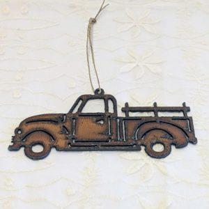 Rustic Truck Ornament