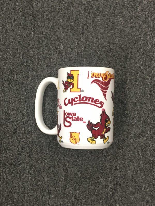 Iowa State University Vintage Sports Mug – 15 oz